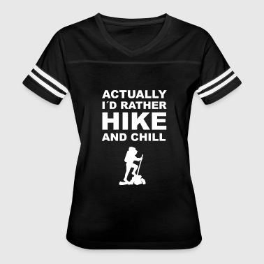 Hiker Mom Climbing hiking mountaineering hiker gift - Women's Vintage Sport T-Shirt