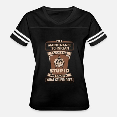 Network Security Welder - maintenance technician i can fix stupi - Women's Vintage Sport T-Shirt