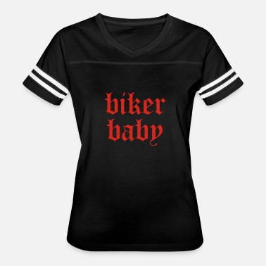 Bikers Couples Biker Baby - Women's Vintage Sport T-Shirt