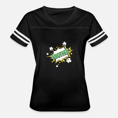 Fighting Style Brother Comic Fight Style funny tshirt - Women's Vintage Sport T-Shirt