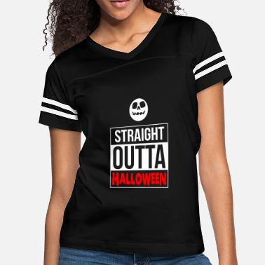 30fb3d74 Halloween - Straight Outta Halloween - Women's Vintage Sport T-Shirt