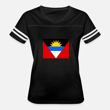 Antigua Flag Flag of Antigua and Barbuda (ag) - Women's Vintage Sport T-Shirt