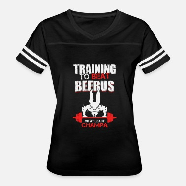 Beerus Training to beat Beerus or at least Champa - Women's Vintage Sport T-Shirt
