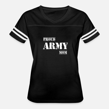 Army Mom Art Proud Army Mom - Women's Vintage Sport T-Shirt