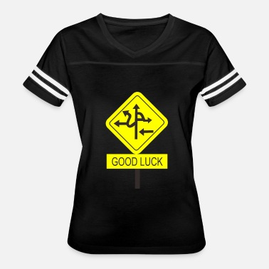 Traffic Signs traffic sign - Women's Vintage Sport T-Shirt