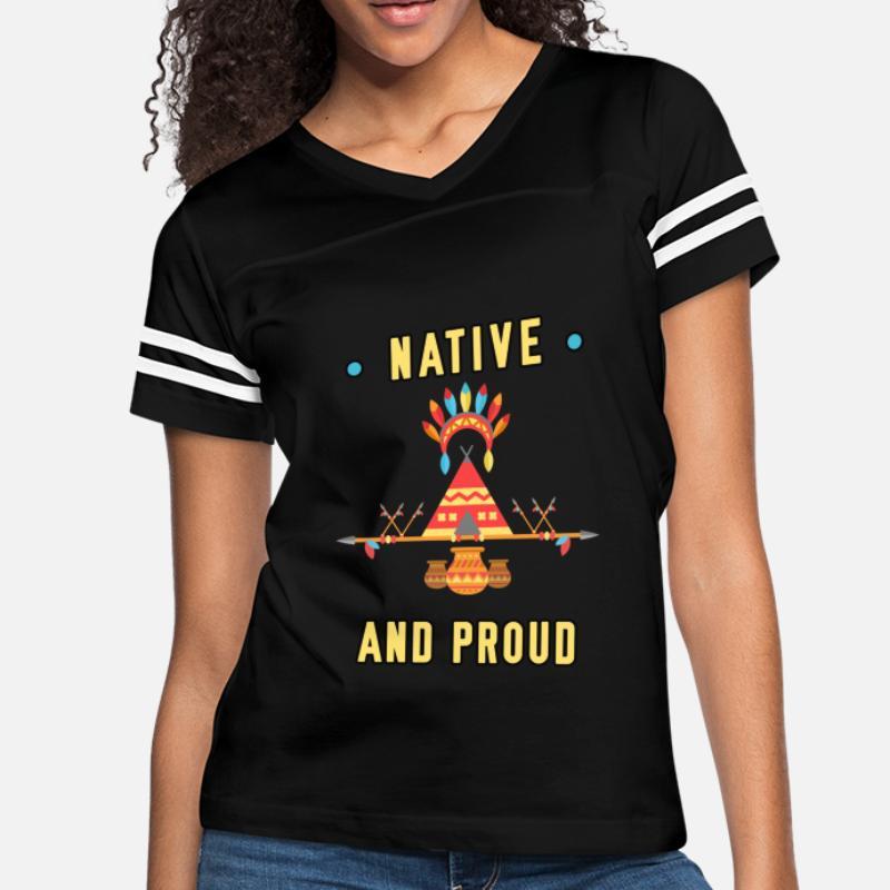 4889cdf714 Shop Native American T-Shirts online | Spreadshirt