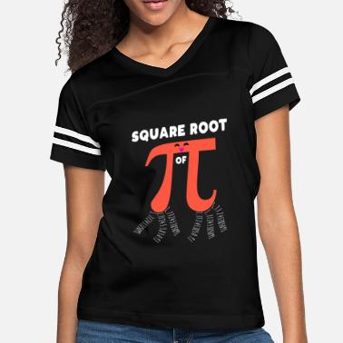 Square Square Root Of PI Day 2019 Math Teacher Nerd Geek - Women's Vintage Sport T-Shirt