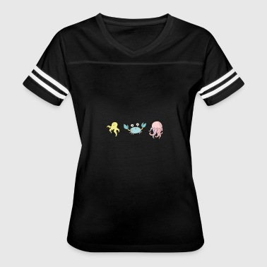sea creatures - Women's Vintage Sport T-Shirt