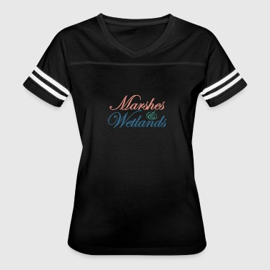 Marshes and Wetlands 1 - Women's Vintage Sport T-Shirt