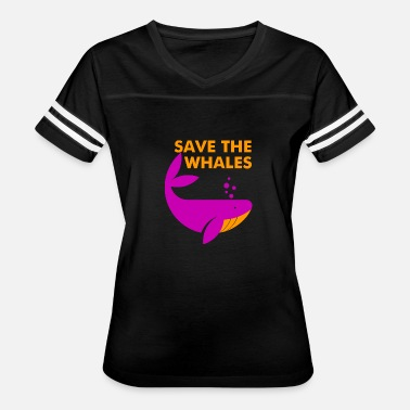 Greenpeace Save the Whales - Women's Vintage Sport T-Shirt
