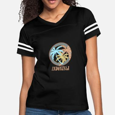 Indonesia Indonesia - Women's Vintage Sport T-Shirt