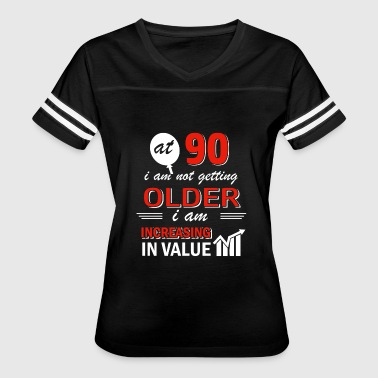 Funny 90 year old gifts - Women's Vintage Sport T-Shirt