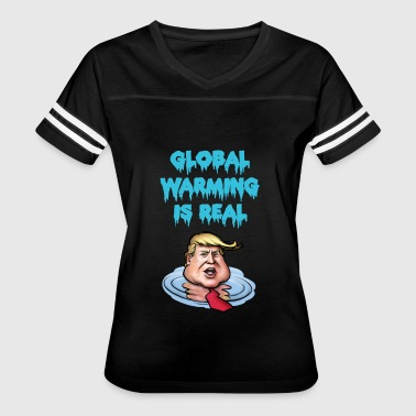 Global Warming - Women's Vintage Sport T-Shirt