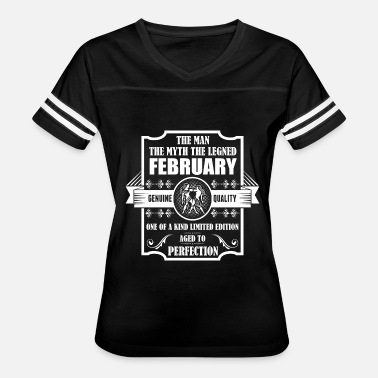 Age Of Gemini Gemini Legend February - Women's Vintage Sport T-Shirt