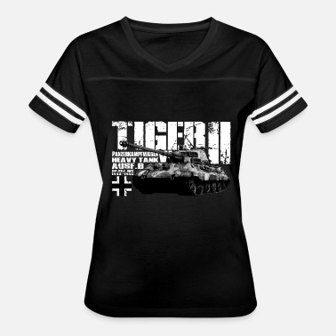 World Of Tanks Tiger II - Women's Vintage Sport T-Shirt