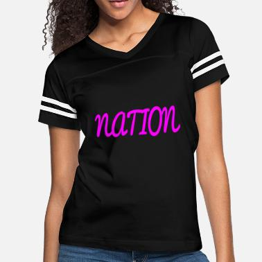 National NATION - Women's Vintage Sport T-Shirt