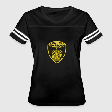 Funny Baltimore Baltimore Police - Women's Vintage Sport T-Shirt