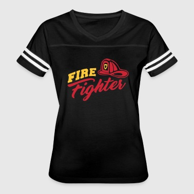 Fire Fighter - Women's Vintage Sport T-Shirt