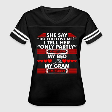 Love My Gram I Love My Bed And My Gram - Women's Vintage Sport T-Shirt