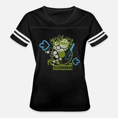 Electronica Freak Electronica - Women's Vintage Sport T-Shirt