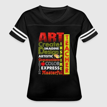 Art Teacher ART TEACHER SHIRT - Women's Vintage Sport T-Shirt