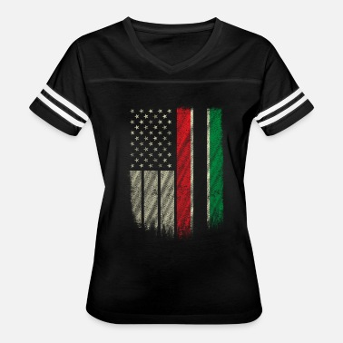 Pan African Flag African American Flag Pan African UNIA Flag Retro - Women's Vintage Sport T-Shirt