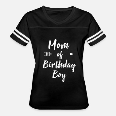 Mom Of The Birthday Boy Mom Of Birthday Boy Shirt - Women's Vintage Sport T-Shirt