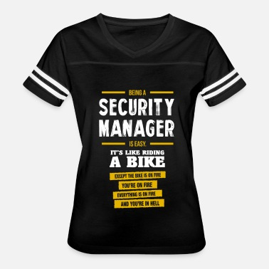 Security Manager Funny security manager - Women's Vintage Sport T-Shirt
