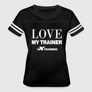 Love My Trainer color FITx - Women's Vintage Sport T-Shirt