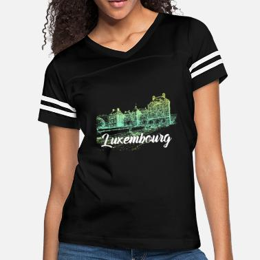 Luxembourg Luxembourg - Women's Vintage Sport T-Shirt
