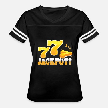 Money Jackpot Jackpot 777 Casino - Women's Vintage Sport T-Shirt