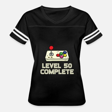 Complete 50 Level 50 Complete - Women's Vintage Sport T-Shirt