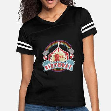 Circus Carnival Theme 8th Birthday Party Kids Shirt