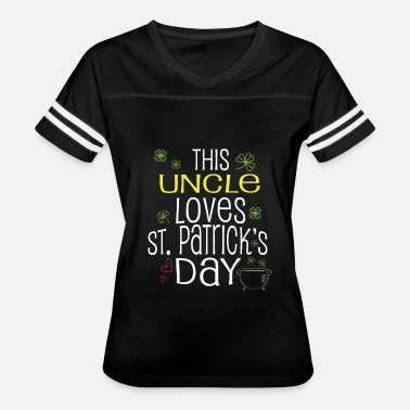 Uncle And Son Uncle St Patricks Day Gift Son Brother Irish - Women's Vintage Sport T-Shirt