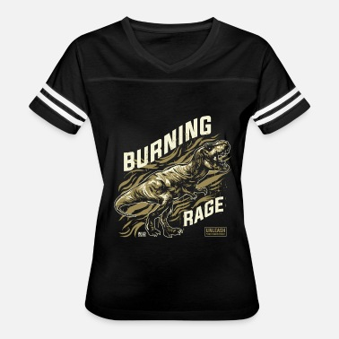 Unleash Your Inner Beast Burning rage - Women's Vintage Sport T-Shirt