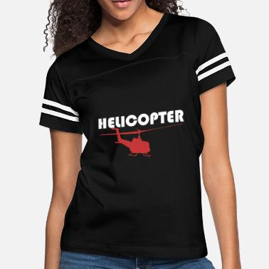 Helicopters Helicopter - Women's Vintage Sport T-Shirt