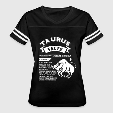 TAURUS FACTS - Women's Vintage Sport T-Shirt