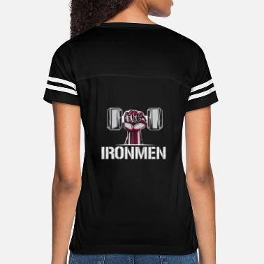 Training Ironman Power - Fitness Strength Training - Women's Vintage Sport T-Shirt