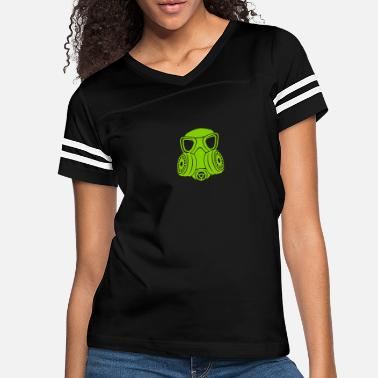 Mask Gas mask - Women's Vintage Sport T-Shirt