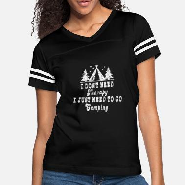 Campfire Marshmallow Camping Camper Gift Idea - Women's Vintage Sport T-Shirt