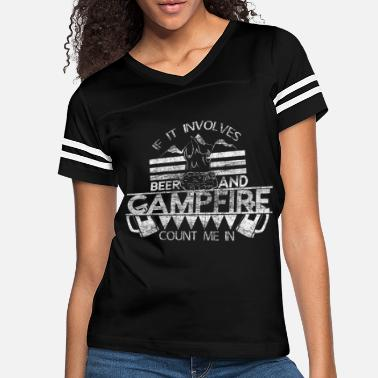 Recreational Camping beer campfire - Women's Vintage Sport T-Shirt