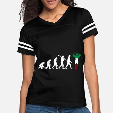 Italy Italy country gift evolution fitness - Women's Vintage Sport T-Shirt