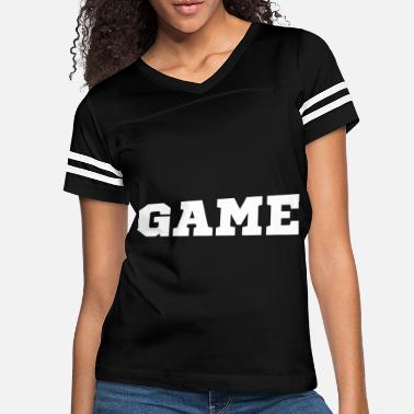 Playing Game - Women's Vintage Sport T-Shirt