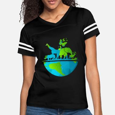 ANIMALS OF THE WORLD Shirt Wild Animal Missions - Women's Vintage Sport T-Shirt