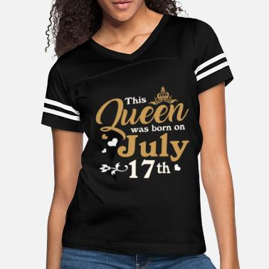 Womens Queen are Born in July 2002 17th Birthday - Women's Vintage Sport T-Shirt