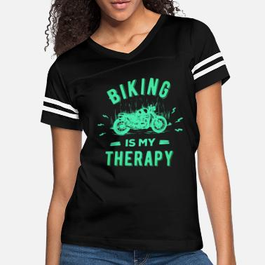 Girlfriend Motorcycle for Biker Motorcyclists bicycle - Women's Vintage Sport T-Shirt