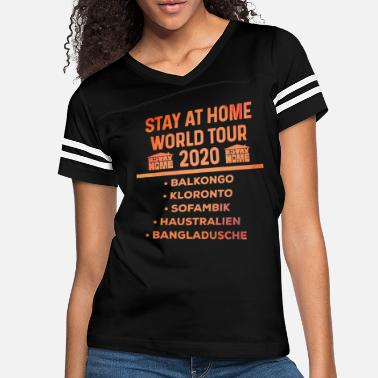 Stayathome Stay At Home stayathome 2020 Virus epidemic - Women's Vintage Sport T-Shirt