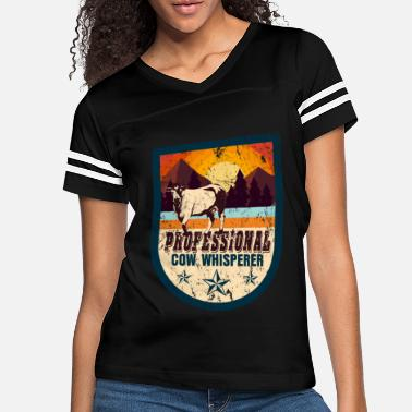 Farmer Cow farm animal gift - Women's Vintage Sport T-Shirt