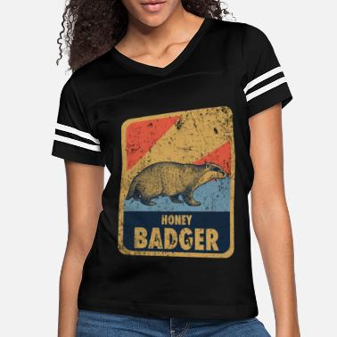 Aggressive badger forest honey - Women's Vintage Sport T-Shirt