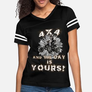 Quadrat Quad 4X4 and the day is yours Shirt - Women's Vintage Sport T-Shirt